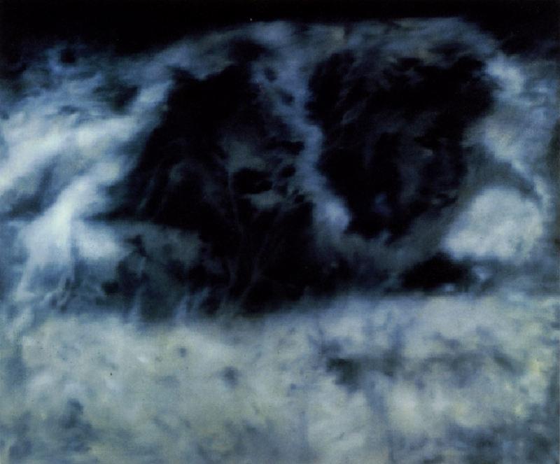 Gerhard Richter-Tourist, mit 2 Lowen (Tourist, with 2 Lions)-1975