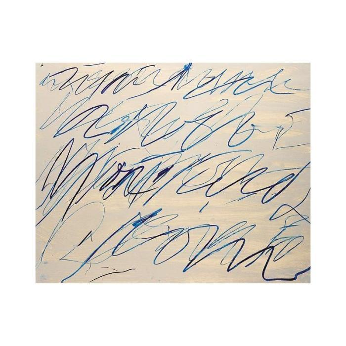 Cy Twombly-Roman Note No.6-1970