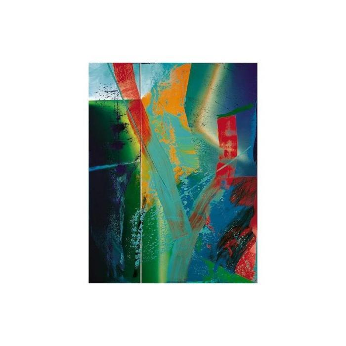 Gerhard Richter-Abstraktes Bild 580-1 (Abstract Painting 580-1)-1985
