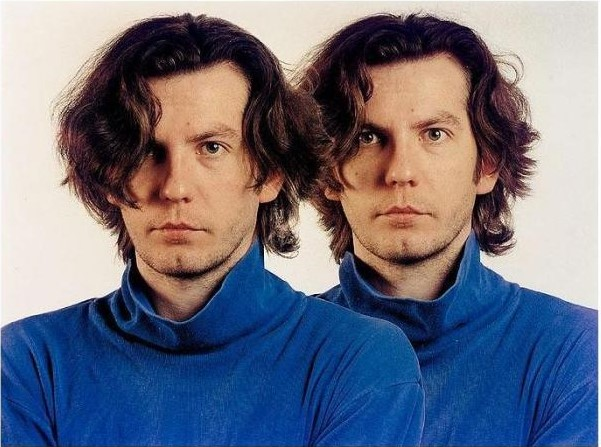 Thomas Ruff-Ich - Zweimal (Double self portrait)-1992