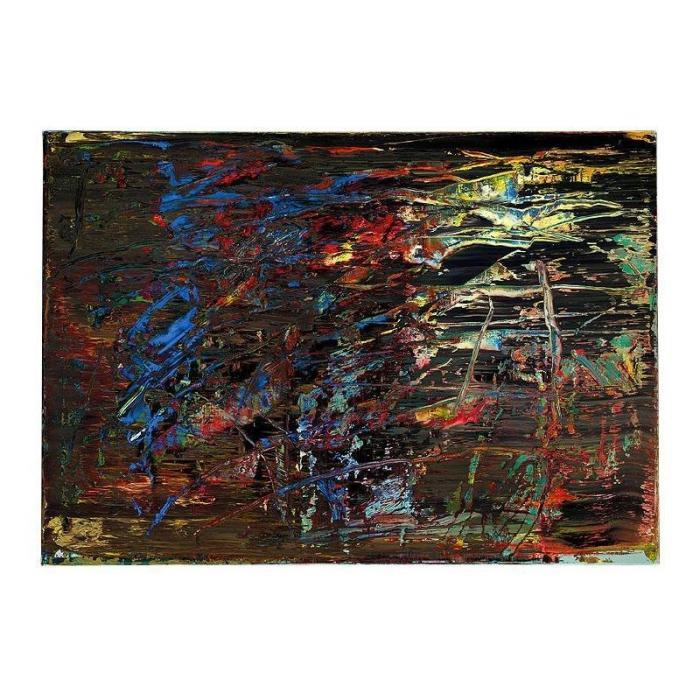 Gerhard Richter-Abstraktes Bild 665-3 (Abstract Painting 665-3)-1988