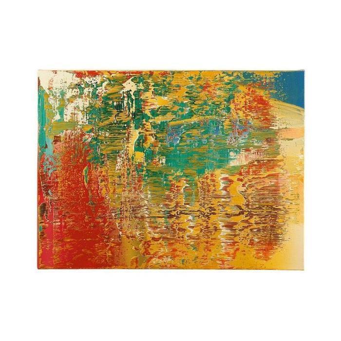 Gerhard Richter-Abstraktes Bild 707-1 (Abstract Painting 707-1)-1989
