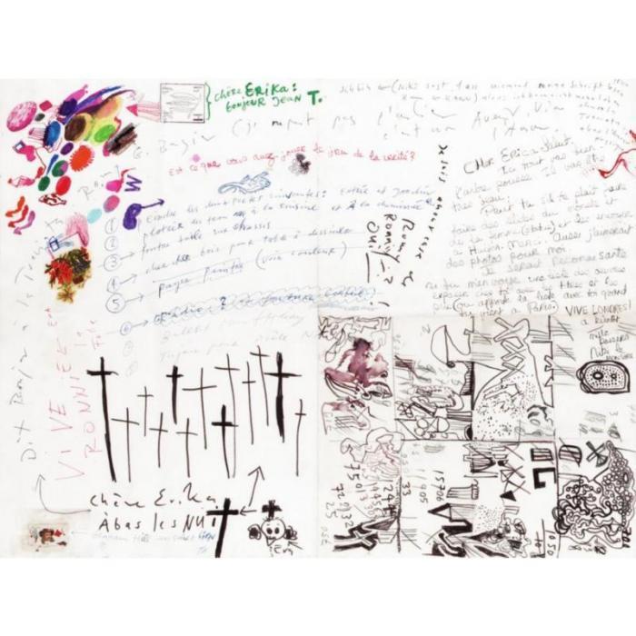 Niki de Saint Phalle-Letter to Erica-