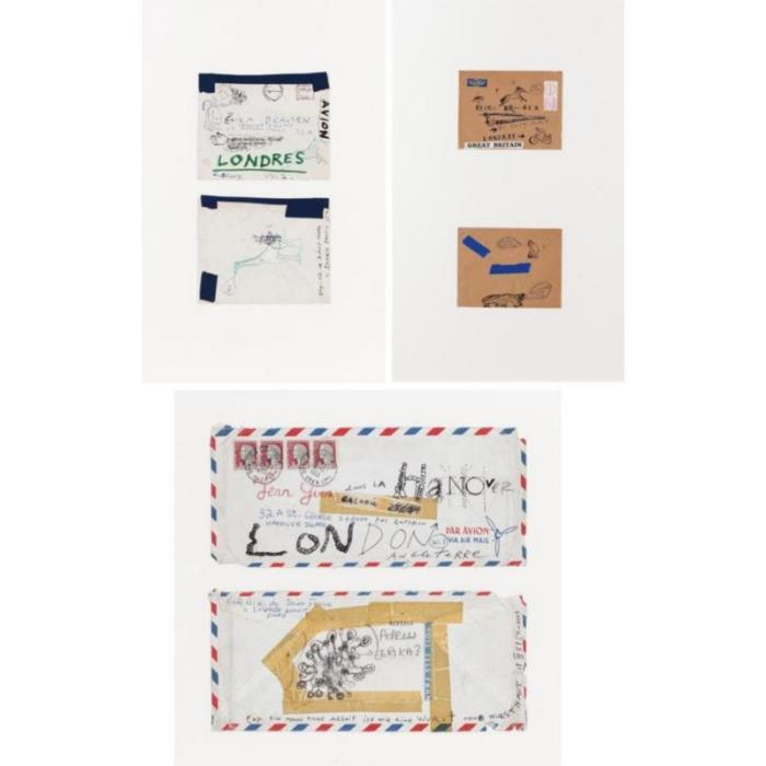 Niki de Saint Phalle-Envelopes-