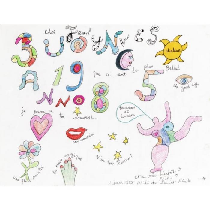 Niki de Saint Phalle-Buon anno 1985-1985