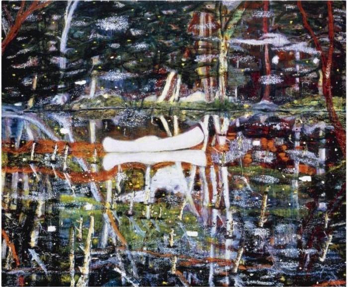 Peter Doig-White Canoe-1991