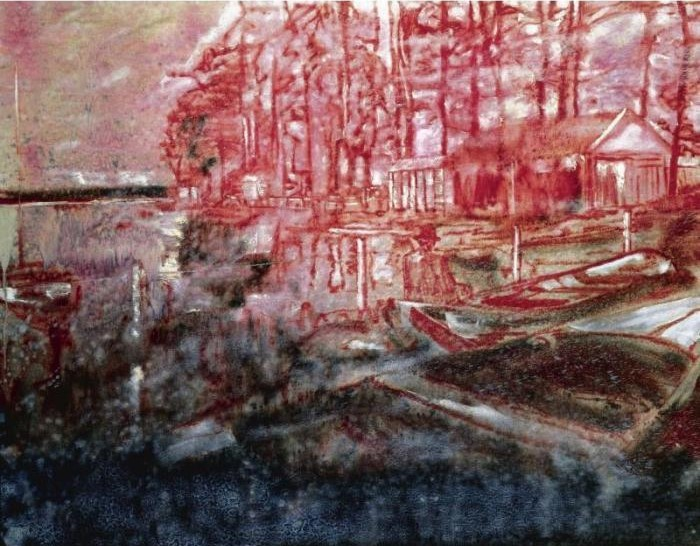 Peter Doig-French Landscape-1993
