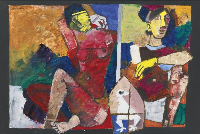 Maqbool Fida Husain-Untitled-1980