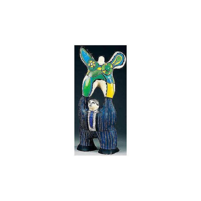 Niki de Saint Phalle-Le poete et sa muse-1975