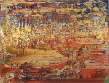 Gerhard Richter-Abstraktes Bild 707-3 (Abstract Painting 707-3)-1989