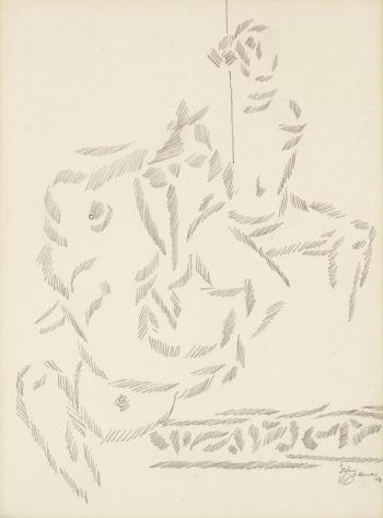Maqbool Fida Husain-Untitled-1978