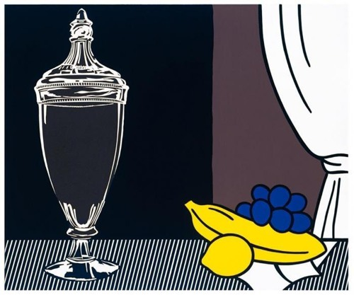 Roy Lichtenstein-Still Life with Candy Jar-1972