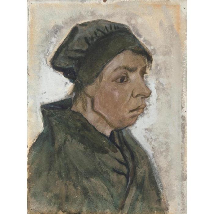 Vincent van Gogh-Vieille paysanne-1885