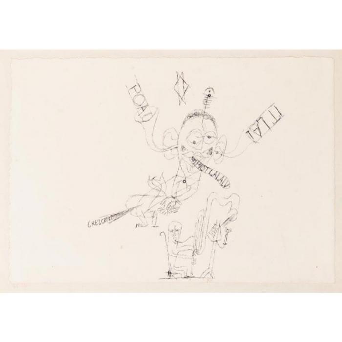 Paul Klee-Der Fagottist (The Bassoonist)-1918