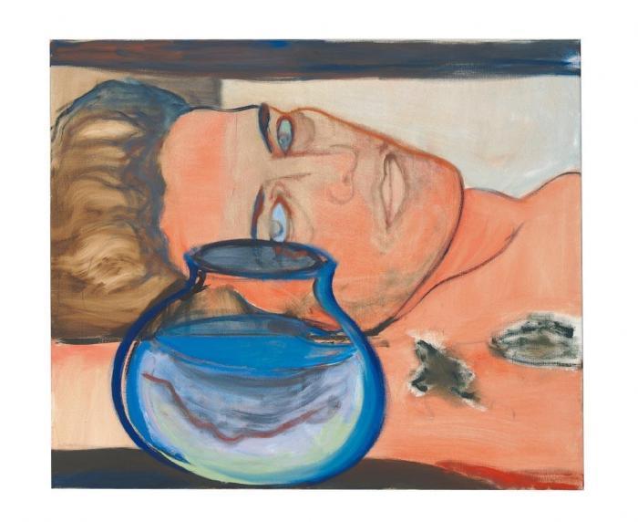 Marlene Dumas-Fishbowl Country-1987