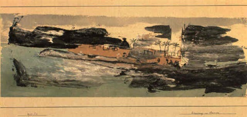 Paul Klee-Erinnerung An Assuan-1930