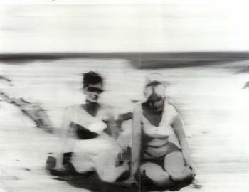 Gerhard Richter-Renate und Marianne-1964