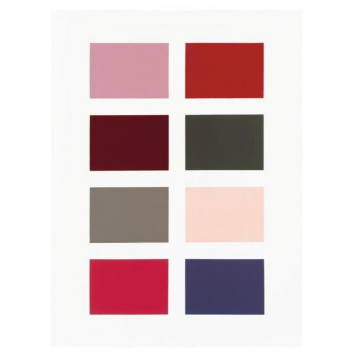 Gerhard Richter-Farbtafel 139-5 (Colour Chart 139-5)-1966