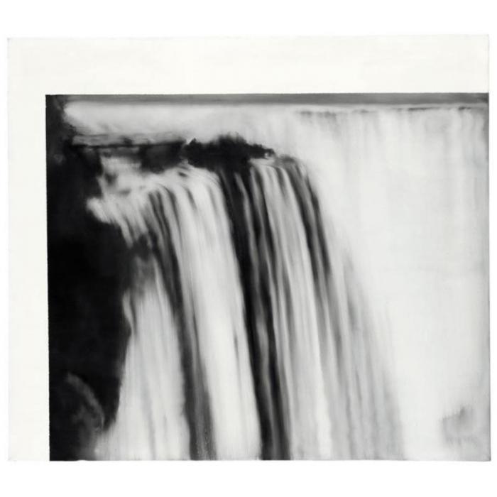 Gerhard Richter-Niagara Falls-1965