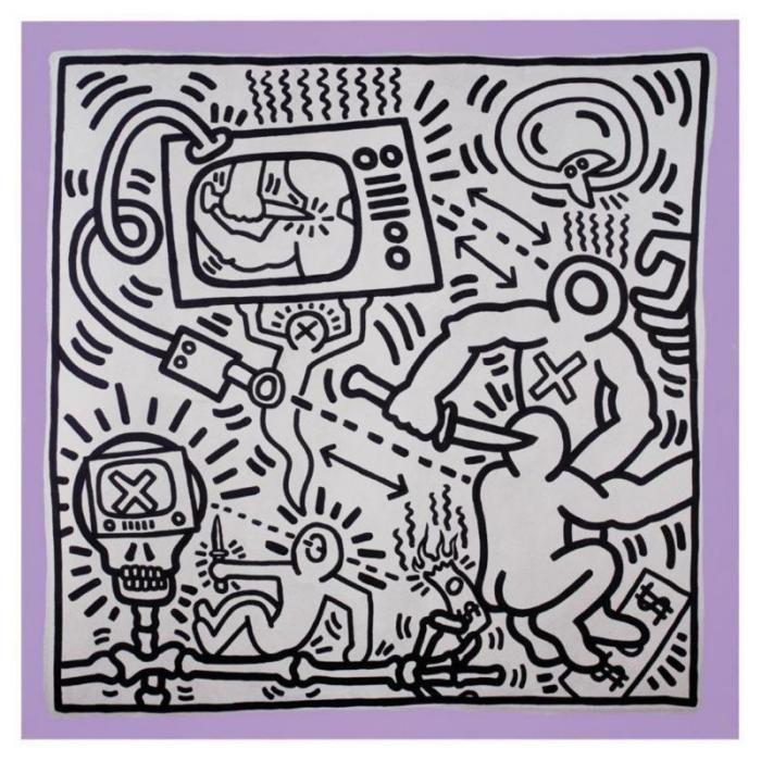 Keith Haring-Keith Haring - Untitled-1985