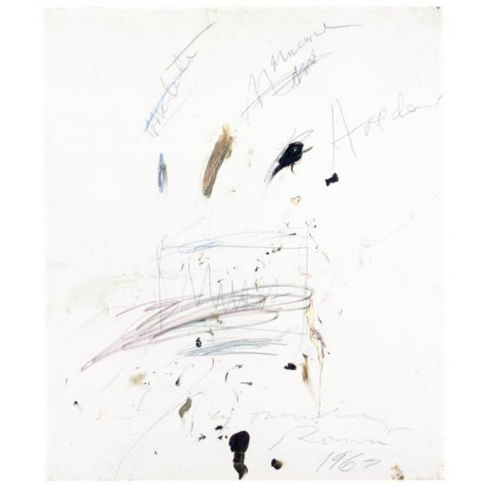 Cy Twombly-Muses-1963