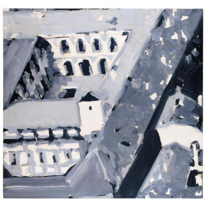 Gerhard Richter-Stadtbild M5 (Townscape M5)-1968