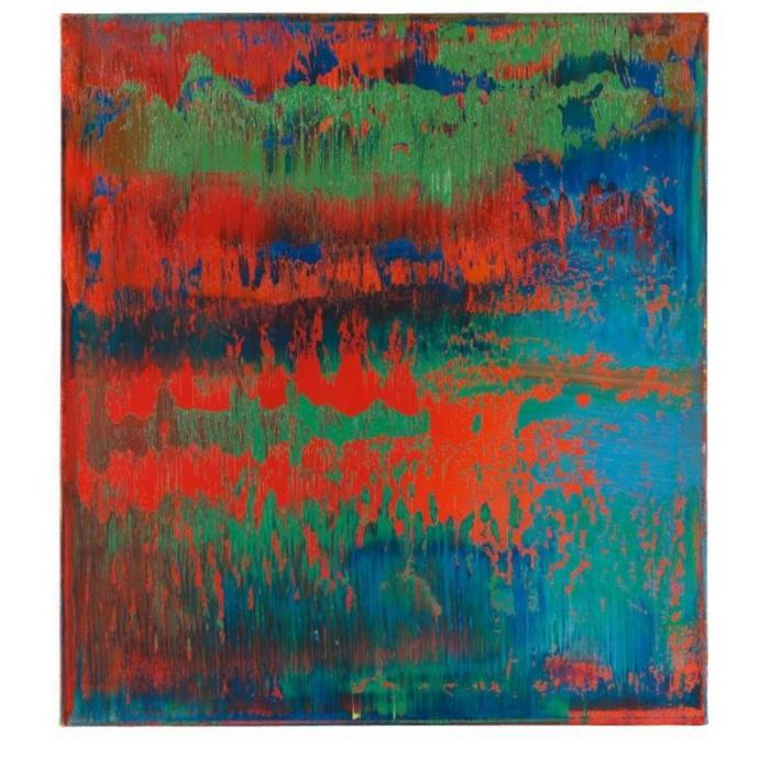 Gerhard Richter-Abstraktes Bild 614-1 (Abstract Painting 614-1)-1986