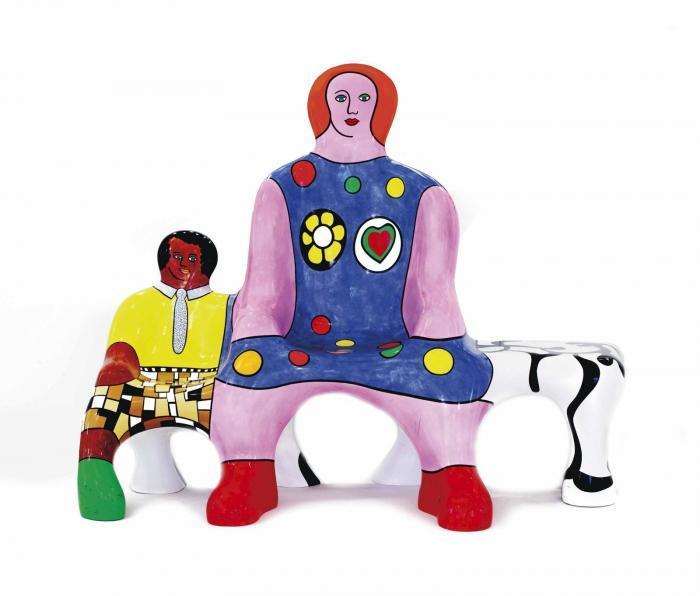 Niki de Saint Phalle-Le banc des generations-2002