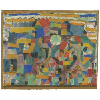 Paul Klee-Freundlicher Ort (Friendly Place)-1919