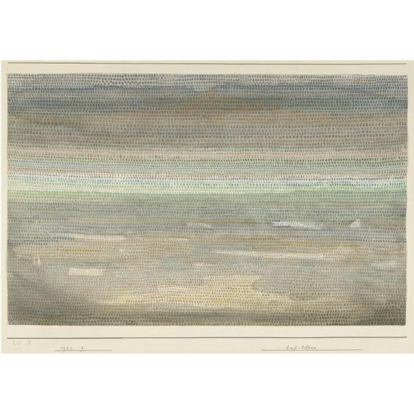 Paul Klee-Tief-Ebene (Lowlands)-1932