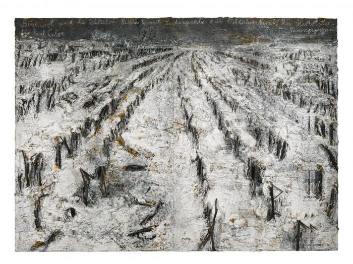 Anselm Kiefer-Des Herbstes Runengespinst - Fur Paul Celan-2005