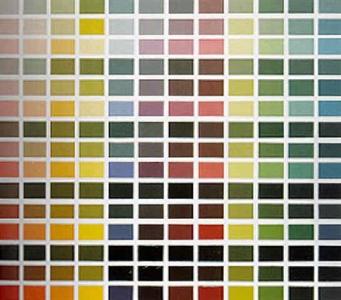 Gerhard Richter-Farbfeld-1971