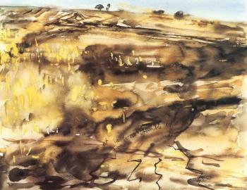 Anselm Kiefer-Et la terre tremble encore-1982