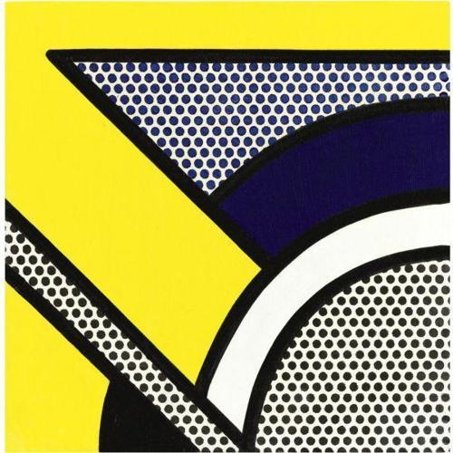 Roy Lichtenstein-Untitled (Modern Painting)-