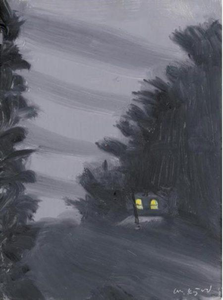 Alex Katz-Night Ride-2000