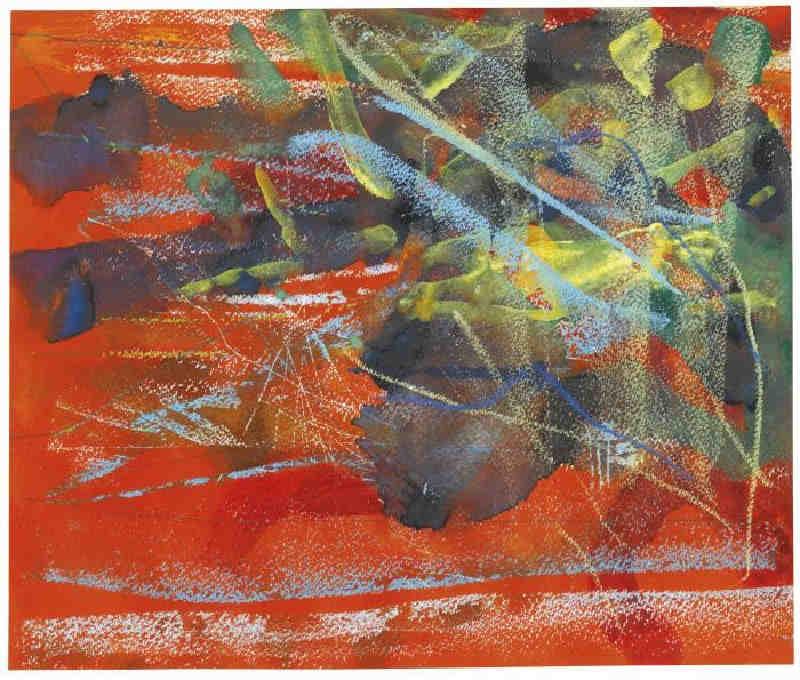Gerhard Richter-Landschaft 1 (10.2.84) / Landscape 1 (10.2.84)-1984