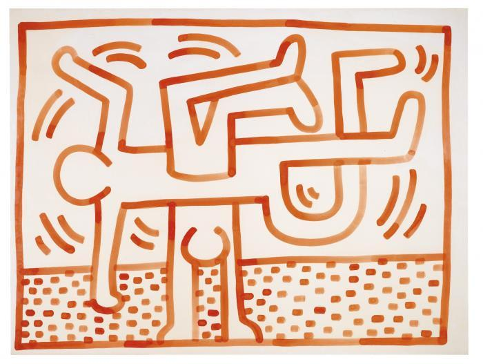 Keith Haring-Keith Haring - Untitled-1983