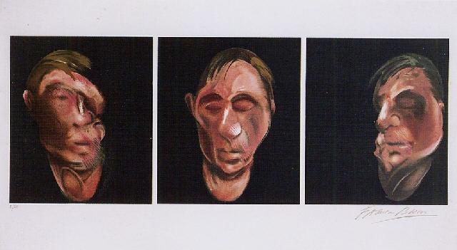Francis Bacon-Three Portrait Heads-1990