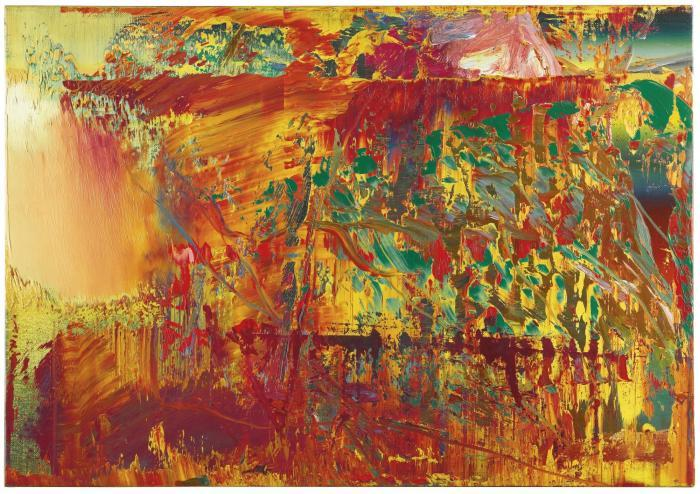 Gerhard Richter-Abstraktes Bild 607-1 (Abstract Painting 607-1)-1986