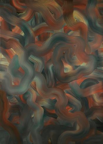 Gerhard Richter-Abstraktes Bild 336-2 (Rot-Blau-Gelb)-1973