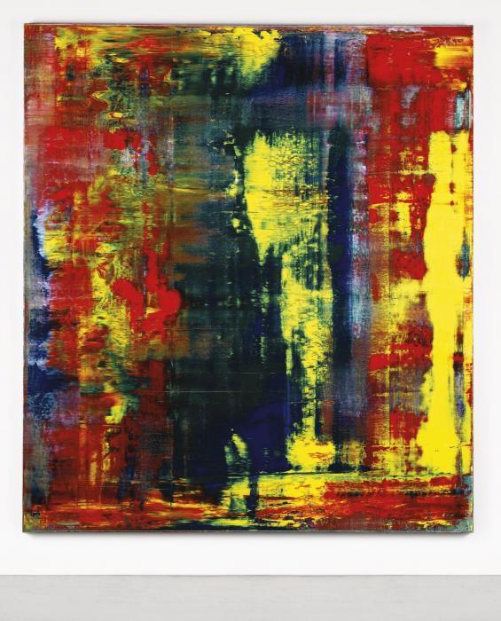 Gerhard Richter-Abstraktes Bild 809-4 (Abstract Painting 809-4)-1994