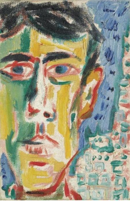 Peter Doig-Tony (NYC)-1986
