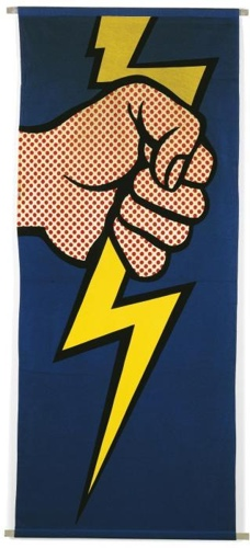 Roy Lichtenstein-Lightning Bolt-1966
