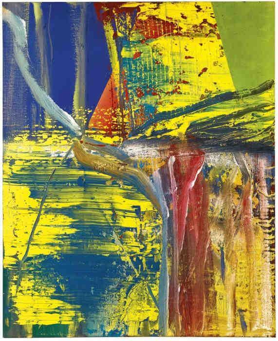 Gerhard Richter-D.Z. (579-1)-1985