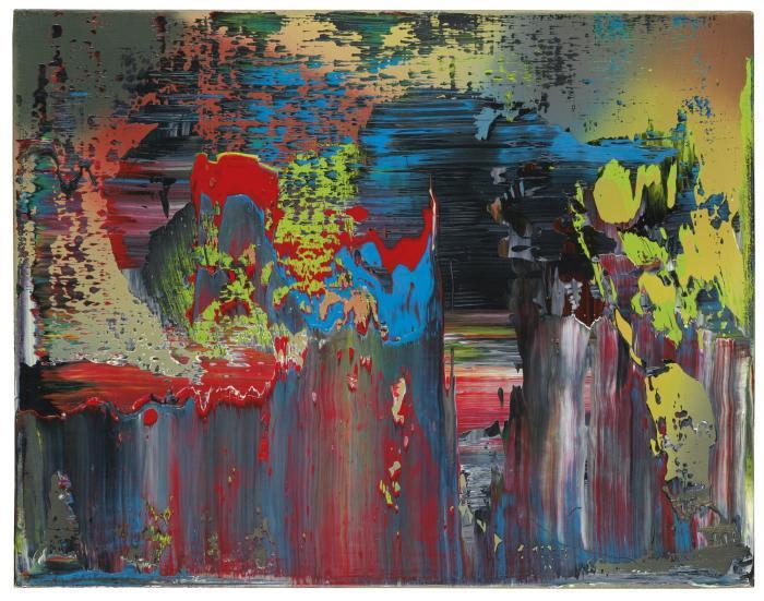 Gerhard Richter-Abstraktes Bild 675-9 (Abstract Painting 675-9)-1988