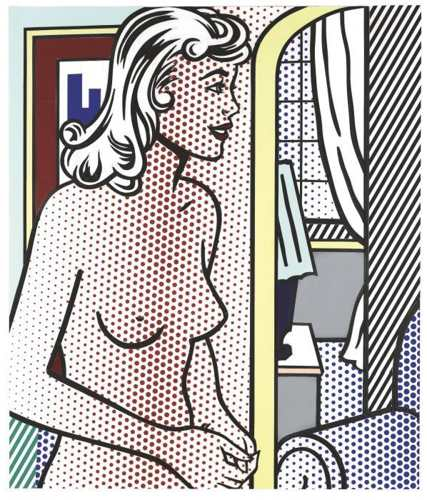 Roy Lichtenstein-Nude in Apartment-1995