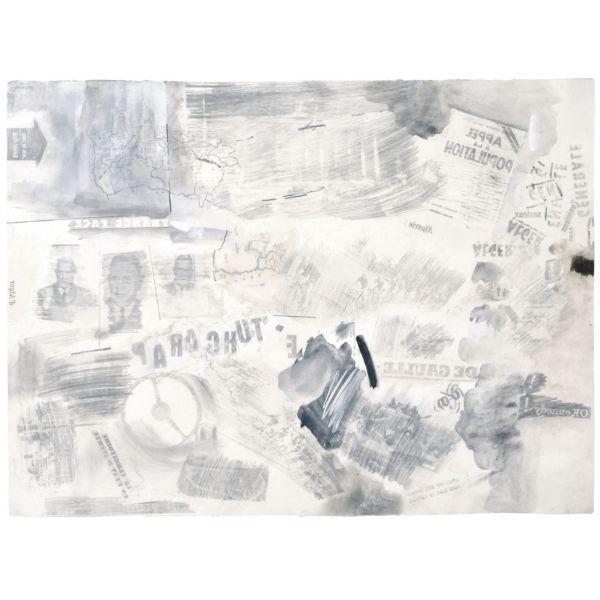 Robert Rauschenberg-Robert Rauschenberg - Untitled-1961