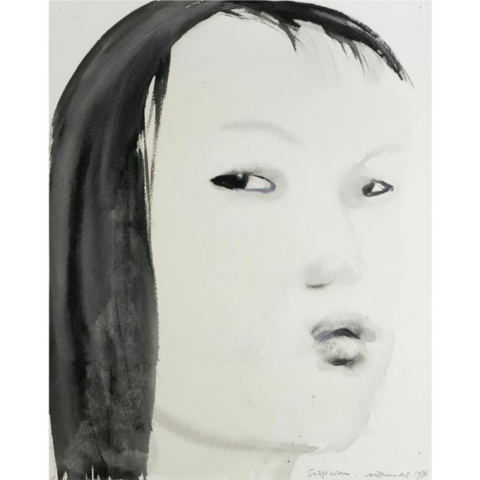 Marlene Dumas-Suspicion-1996