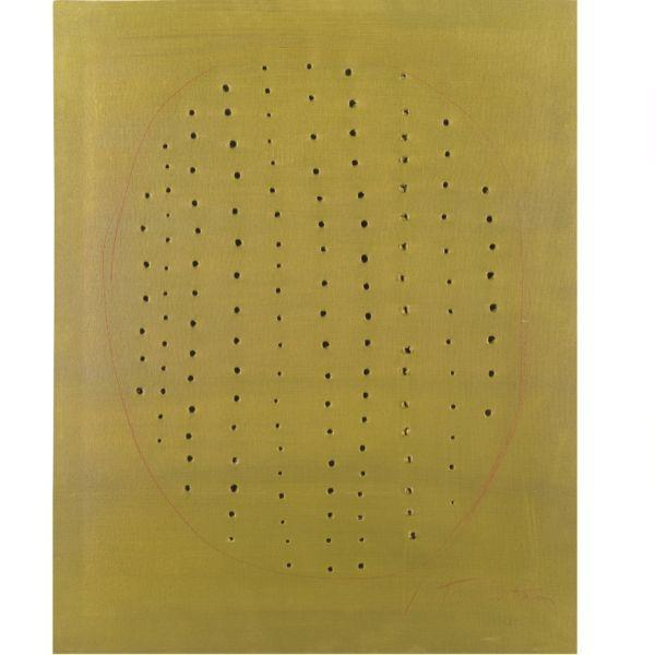 Lucio Fontana-Concetto spaziale-1967