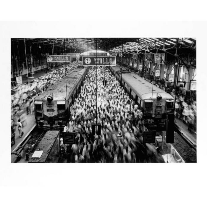 Sebastiao Salgado-Church Gate Station, Western Railroad Line, Bombay, India-1995